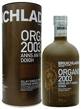 Bruichladdich Scotch Single Malt The Organic